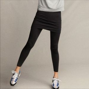Cabi Black Skirted Leggings